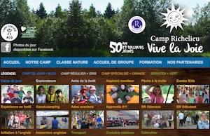 Camp Richelieu Vive la Joie - Bas-Saint-Laurent, Saint-Modeste