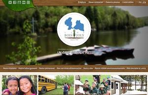 Camp Boisjoly - Estrie / Canton de l'est, Municipalité Racine