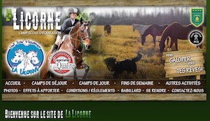 La Licorne (Camp d'Équitation) - Chaudière-Appalaches, Sainte-Croix (Lotbinière)