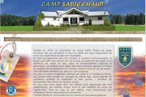 Camp Sable Chaud - Gaspésie, Amqui