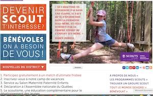 Camp Ville-Marie (Scouts) - Lanaudière, Entrelacs