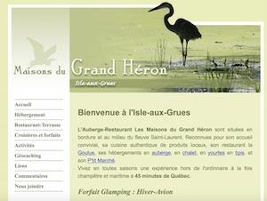 Maisons du Grand Héron - Chaudière-Appalaches, Saint-Antoine-de-l'Isle-aux-Grues