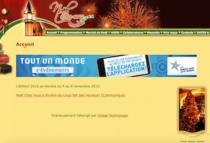 Noel Chez-Nous à Rivière-du-Loup - Bas-Saint-Laurent, Rivière-du-Loup (V)