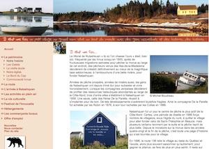 La Corporation  de développement patrimonial,  culturel et touristique de Natashquan - Côte-Nord / Duplessis, Natashquan