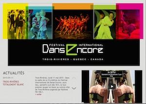 Festival International de Danse Encore - Mauricie, Trois-Rivières