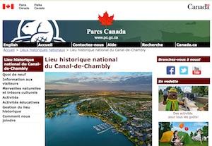 Lieu historique national du Canal-de-Chambly - Montérégie, Chambly