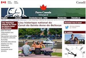 Lieu historique national du Canal-de-Sainte-Anne-de-Bellevue (Parcs Canada) - Montréal, Sainte-Anne-de-Bellevue