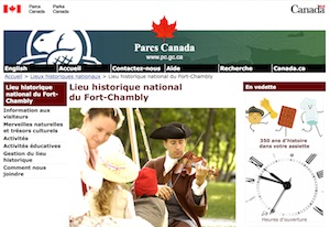 Lieu historique national du Fort-Chambly (Parcs Canada) - Montérégie, Chambly