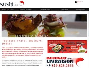 Restaurant Sushi Express - Estrie / Canton de l'est, Sherbrooke