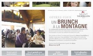 Brunch du Mont Tourbillon - Capitale-Nationale, Lac-Beauport (Lac-Beauport)