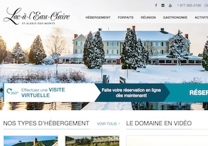 Chalet Auberge Simdar Lac-à-l'eau-Claire - Mauricie, Saint-Alexis-des-Monts