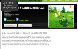 Golf Tapanee - Laurentides, Sainte-Anne-du-Lac
