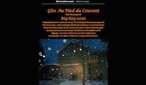 Gîte Au Pied Du Courant - Laurentides, Mont-Laurier