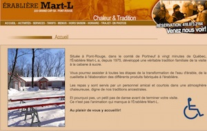 Érablière Mart-L (Cabane à Sucre) - Capitale-Nationale, Pont-Rouge
