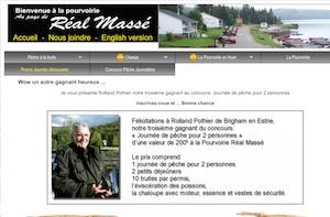 Pourvoirie Au pays de Réal Massé - Lanaudière, Saint-Zénon