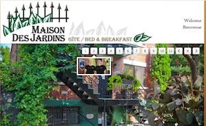 Gîte Maison des Jardins / Gîte B&B - Montréal, Montréal