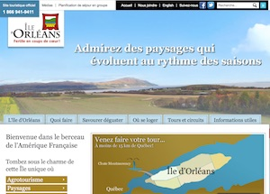 Bureau d'accueil Tourisme Ile d'Orléans - Capitale-Nationale, Saint-Pierre-de-l'Île-d'Orléans