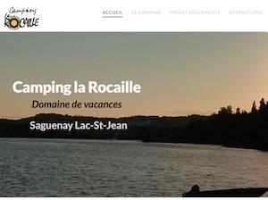 Camping domaine de vacances la Rocaille - Saguenay-Lac-Saint-Jean, Saguenay (Saguenay) (Laterrière)