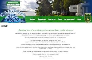 Camping des Îles 2008 - Chaudière-Appalaches, Saint-Hilaire-de-Dorset (Beauce)