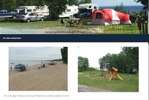 Camping l'Amical - Saguenay-Lac-Saint-Jean, Dolbeau-Mistassini (Lac-St-Jean)
