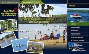 Camping Municipal Saint-Félix-D'Otis - Saguenay-Lac-Saint-Jean, Saint-Félix-d'Otis (Saguenay)