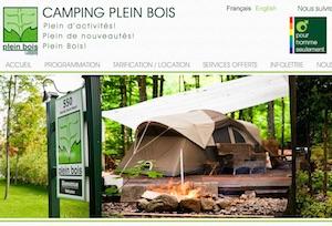Camping Plein Bois (Hommes seulement) - Montérégie, Sainte-Marthe