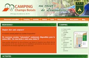 Camping Champs Boisés - Lanaudière, Sainte-Julienne