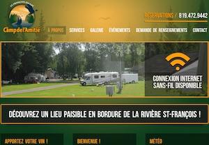 Camping de l'Amitié - -Centre-du-Québec-, Saint-François-du-Lac