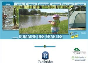 Camping Domaine des Érables (Parkbridge) - Montérégie, Saint-Roch-de-Richelieu