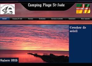Camping Plage St-Jude - Saguenay-Lac-Saint-Jean, Saint-Gédéon (Lac-St-Jean)