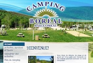 Camping Boréal - Côte-Nord / Manicouagan, Baie-Comeau