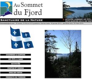 Camping au Sommet du Fjord - Côte-Nord / Manicouagan, Sacré-Coeur