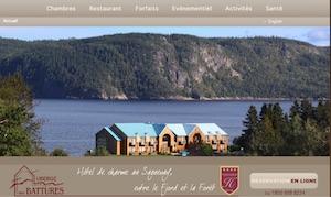 Auberge des Battures - Saguenay-Lac-Saint-Jean, Saguenay (Saguenay) (V) (La Baie)