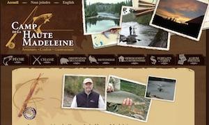 Camp de la Haute Madeleine - Gaspésie, Rivière-la-Madeleine