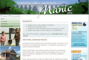Domaine de la Manic - Bas-Saint-Laurent, Squatec