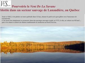 Le vent de la Savane - Lanaudière, Saint-Didace