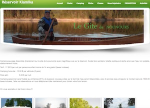 Pourvoirie le Gîte du Nounours - Laurentides, Rivière-Rouge