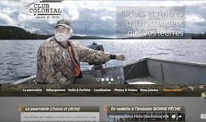Pourvoirie Club Colonial - Saguenay-Lac-Saint-Jean, Saint-Félicien (Lac-St-Jean)