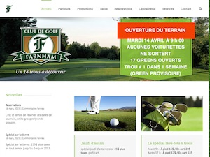 Club de golf de Farnham - Montérégie, Farnham