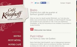 Auberge Café Krieghoff B&B - Capitale-Nationale, Ville de Québec (V)