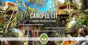 Canopée Lit - Côte-Nord / Manicouagan, Sacré-Coeur