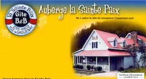 Auberge La Sainte Paix - Côte-Nord / Manicouagan, Tadoussac
