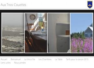 Gîte Aux trois Couettes - Bas-Saint-Laurent, L'Île-Verte