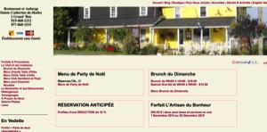 Restaurant et Auberge Sainte-Catherine-de-Hatley - Estrie / Canton de l'est, Sainte-Catherine-de-Hatley
