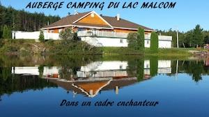 Camping Auberge du Lac Malcom - Gaspésie, Sayabec