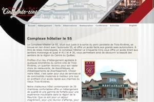 Complexe Hôtellier le 55 - -Centre-du-Québec-, Bécancour