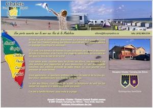 Chalets Camping des Sillons - Îles-de-la-Madeleine, Havre-aux-Maisons