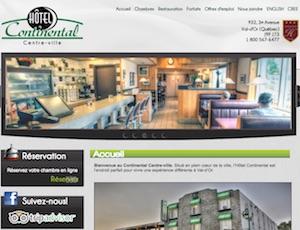 Hôtel Motel Continental - Abitibi-Témiscamingue, Val-d'Or