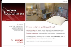 Motel Invitation Inn - Chaudière-Appalaches, Sainte-Marie (Beauce)
