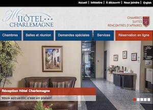 Hôtel Charlemagne - Lanaudière, Charlemagne